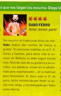 critica a Amar... THC, junio 2008