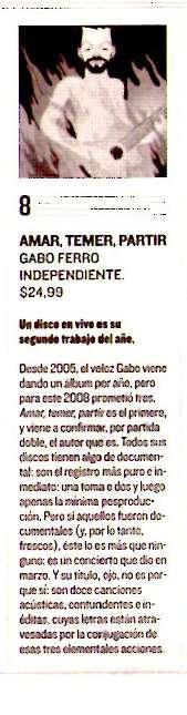 critica a Amar... Critica julio 2008