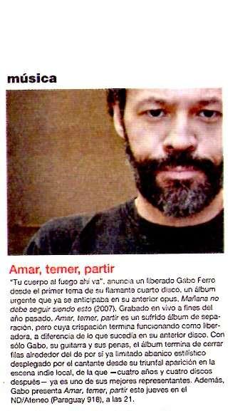 critica a Amar... Radar julio 2008