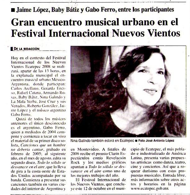 11 octubre 2008 La Jornada México