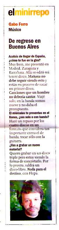 23 febrero 2009 Clarin