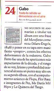 Rolling Stone 50 mejores discos de la década (edición abril 2010)